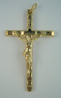 Gold Rosary Crucifix 5718bml