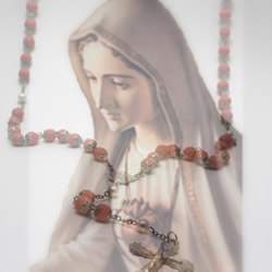 Mary and the Rosary at Real Rosaries