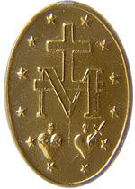 miraculous medal back side